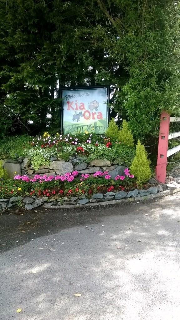 Kia Ora Farm Welcome