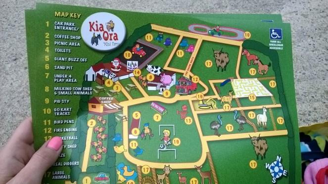 Map Of Kia Ora