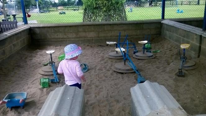 Sand Pit Kia Ora Farm