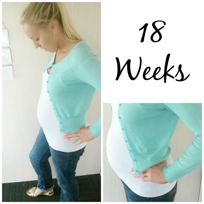 18 weeks pregnant Collage