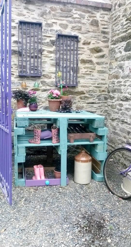 Courtyard Wexford Lavender Farm