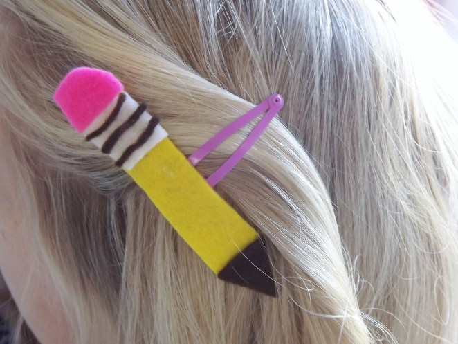 Back To School Hair Clips 1