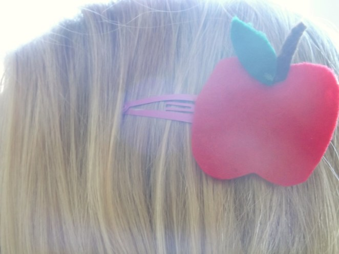 Back To School Hair Clips 2