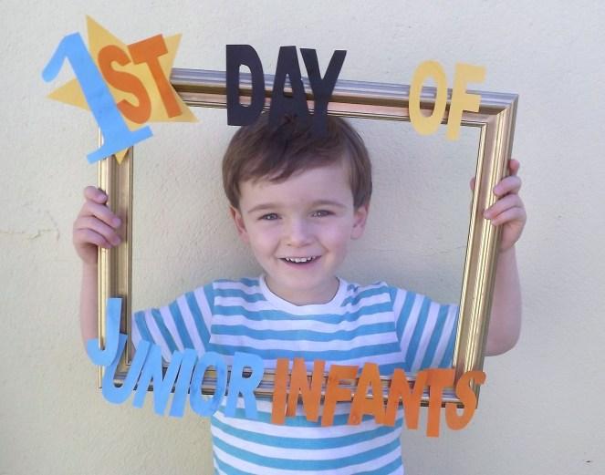 First Day Of School DIY Frame