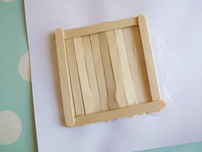Lolly Frame Craft