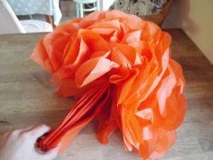 Halloween Pumpkin Pom Poms 1