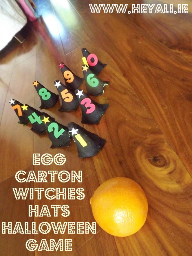 Halloween Witches Hat Bowling Master