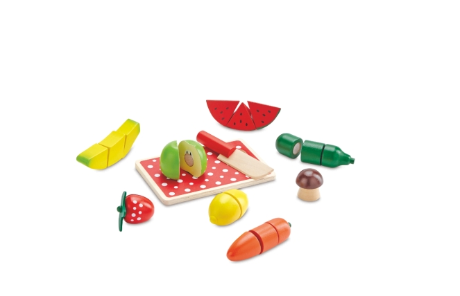 Wooden Fruit & Veg _10.99