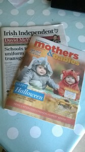 Irish Independents Mothers and Babies Magazine